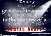 Go to achievement quotes.