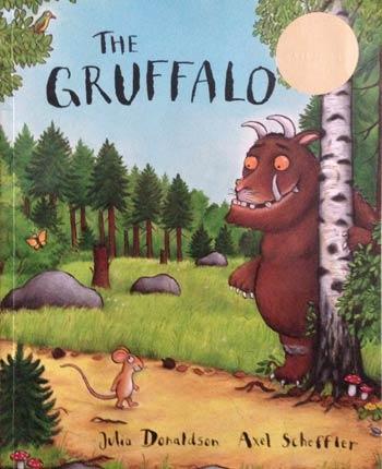 The Gruffalo book cover.