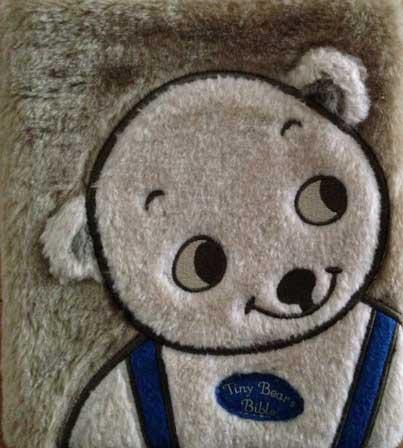 Tiny Bear's Bible book cover.