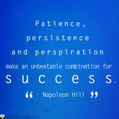 Napoleon Hill success quote