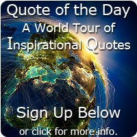 Quote of the Day world tour