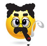 Groucho emoticone