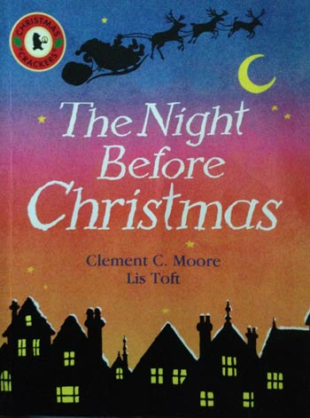 The Night Before Christmas book cover.