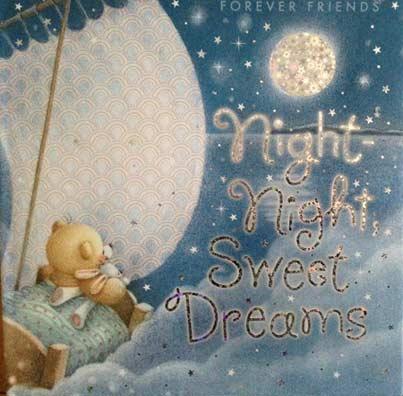 Night night, sweet dreams book cover.